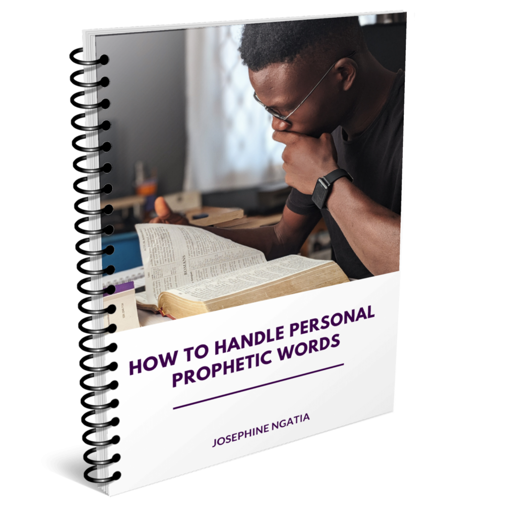 How to handle personal prophetic words